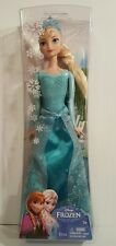 "NEW Frozen Sparkle Princess Elsa Doll Arendelle 12""! Barbie Mattel Disney"
