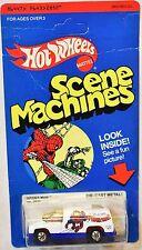 HOT WHEELS SCENE MACHINE 1980 SPIDER MAN BLACKWALL #2852