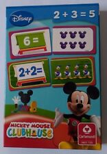 Mickey Mouse Club House Counting Game Playing Cards