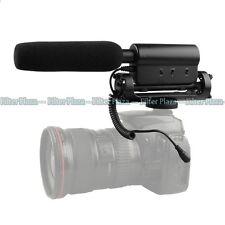 SGC-598 PRO Interview Recording Stereo Microphone for DV DSLR Camera Canon Nikon
