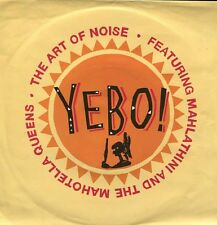 """The ART OF NOISE feat. Mahlathini and the Mahotella Queens """"Yebo !"""" (45t / SP)"""
