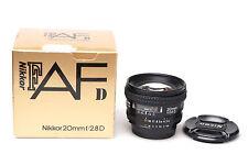 Nikon AF Nikkor 20mm F/2.8 D