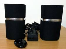 Genuine Bowers & Wilkins MM-1 Hi-Fi Stereo Speaker System - Black
