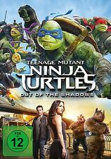 TEENAGE MUTANT NINJA TURTLES: OUT OF THE (Megan Fox, Will Arnett)  DVD NEU