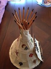 Carlson Dolls Indian Tepee