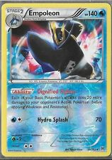 Pokemon TCG XY BREAKTHROUGH : EMPOLEON RARE HOLO 38/162 X 4