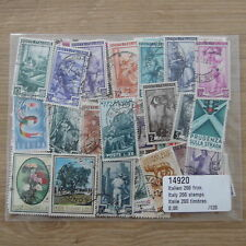 TIMBRES EUROPE / ITALIE : 200 TIMBRES  /  STAMPS ITALIA