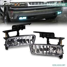 For 00-06 Chevy Suburban/ Tahoe Clear Bumper Fog Lights Driving Lamps Clear
