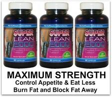 3 Diet Pills Fat Burner Strong Weight Loss Detox Slimming Tablets Appetite Aid