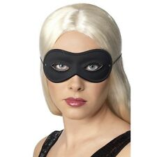 Farfalla Eye Mask Fancy Dress Plain Black Costume Masquerade Robber Burglar Mens