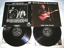 2 LP-muddy waters & the rolling stones sweet home Chicago-MINT phasedepleinecapacitéopérationnelle # cleaned
