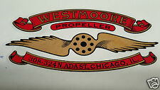 Westmoore Propeller Decal Set of 2 for Vintage Aircraft WW1 - 1920s