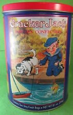Vintage Cracker Jack Popcorn Container Tin 1992 Nostalgia Pictures 3rd of 4