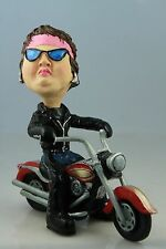 """BIKER   MOM """" HOT STUFF"""" ON A   MOTORCYCLE SEE ALL BREEDS & BODIES @ EBAY STORE"""