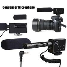 Shotgun Condenser Microphone For Canon 60D 650D Nikon D800 DSLR Camera