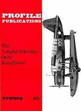 VOUGHT KINGFISHER: PROFILE  #251/ NEW PRINT FACSIMILE ED/13 NEW PAGES/A3 GEN ARR