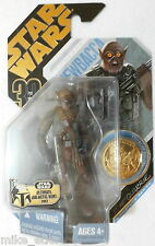 Star Wars 30th Anniversary #21 UGH Concept Chewbacca Gold Coin (Hasbro 2007) New