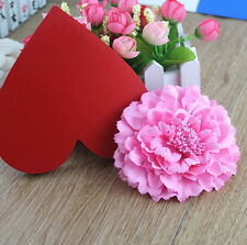 Women's Bridal Wedding Peony Flower Hair Clips Barrette Brooch Hair Accessories