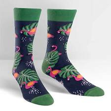 Sock It To Me Men's Crew Socks - Flamingo