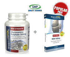 SS Glucosamine Sulphate 500mg 360 Tabs & MSM 1000mg 120 Tablets (S128625)