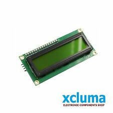 1602 16x2 LCD 16 x 2 MODULE HD44780 GREEN DISPLAY DIY ARDUINO OTHER MCU BE0009