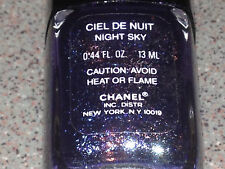 Chanel Vernis CIEL DE NUIT / NIGHT SKY Vintage SPARKLY Polish Super RARE NEW!!