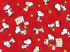 Project Linus - Peanuts!  VIP Quilt fabric 1/2 yard ~ Snoopy and Woodstock