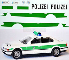 Polizei Bayern BMW 5er 1:43 Decal Abziehbild Police Cars of the World