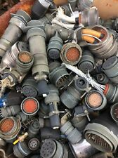 Military Salvage Cannon / Amphenol Plug / Gold Recovery . 20 Pounds