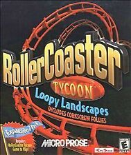 RollerCoaster Tycoon: Loopy Landscapes (PC, 2000)