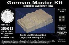 350013,Ladegut, 1:35, Große LKW Beladung No. 2, Resin, GMKT World of War II