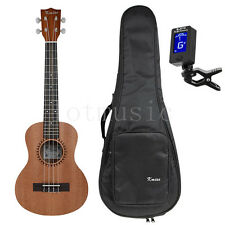 Kmise 26 Inch Tenor Ukulele Ukelele Hawaii Guitar Sapele 18 Fret W/Bag and Tuner