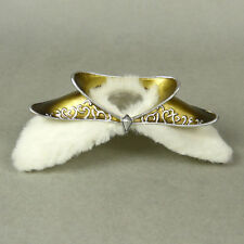 1/6 Scale Phicen, Hot Toys, Play Toy Snow Soldier Shoulder Guard with White Fur