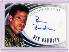 FARSCAPE SEASON ONE AUTOGRAPH CARD A1 BEN BROWDER as JOHN CRICHTON Hensoon 2000