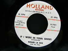 ROGER LA RUE If i were in your shoes  HOLLAND RECORDS H 7421