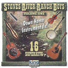 Down Home Instrumentals, Vol. 1 by Stones River Ranch Boys (Cassette) NEW Sealed