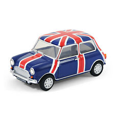 Classic Mini Cooper Car USB Memory Stick 8Gb - Blue Pavilion + Union Jack