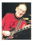 LES PAUL SIGNED Autograph Picture Music LEGEND Gibson Guitar RARE AFTAL COA