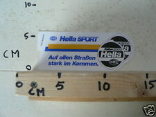 STICKER,DECAL HELLA RALLY 2000 HELLA SPORT