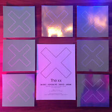 "10x JAPAN CD COVER ARTWORK PROMO OFFICIAL STICKER +5x FLYERS! THE XX ""I SEE YOU"""