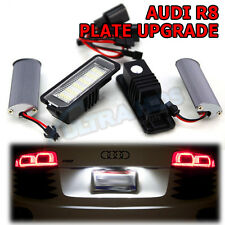 AUDI R8 2007 + Coupe LED Number License Plate Light Lamp Upgrade Xenon White