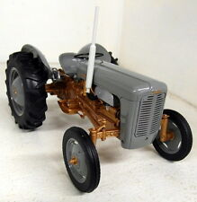 UH 1/16 Scale 2986 Ferguson FE 35 1956 Grey / Gold diecast model Farm Tractor