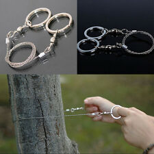 Great Emergency Survival Stainless Steel Wire Saw Camping Hunting Climbing Gear