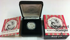 2011 RAMS Head 'C' Mintmark One Dollar Australian Silver Proof Coin