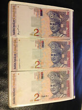 Rm2  3 diff. signatures banknotes -3types in 1 price,  very nice !
