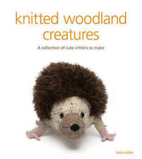 Knitted woodland creatures