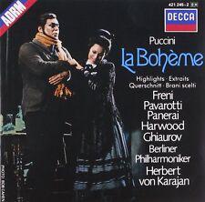 CD Puccini: La Bohème (Auszüge) Mirella Freni & Luciano Pavarotti DECCA