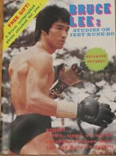 Bruce Lee: Studies on Jeet-Kune-Do Magazine Book 1976 Martial Arts Mint New