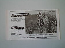 advertising Pubblicità 1973 MOTO SIMONINI 125 CROSS