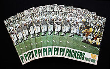 1965 Green Bay Packers Press Book/Media Guide.  Lot of 10.  NM-MT Condition!